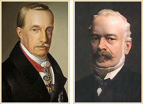 Archduke Joseph of Austria and Menyhert Lonyay
